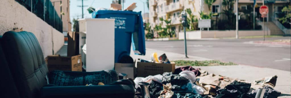 garbage attracts unwanted pests and bugs